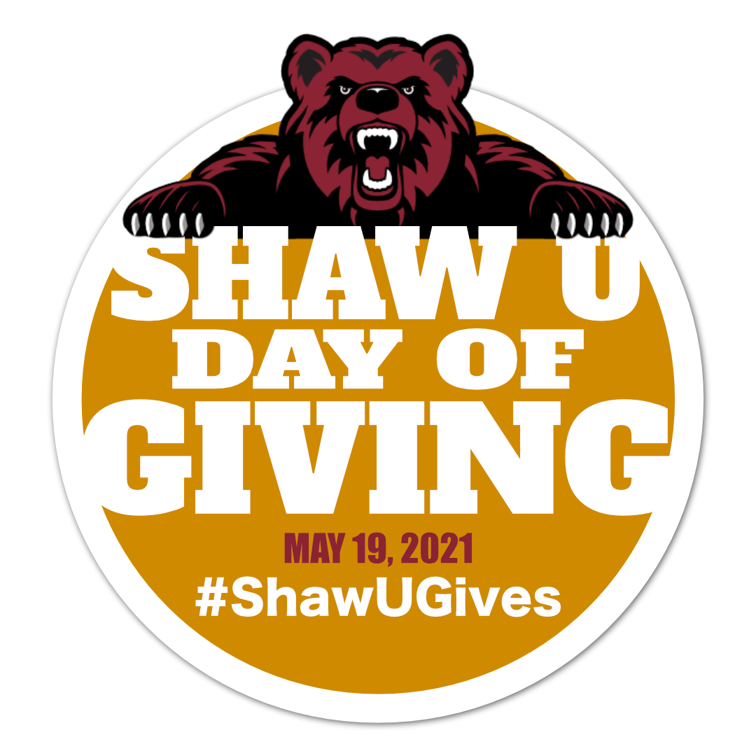 Shaw University day of giving - logo